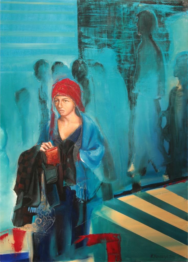 Renata Kowalczyk, INNA, 50X70, olej akryl