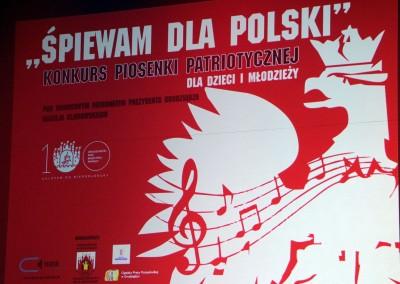 Konkurs Śpiewam dla Polski 01